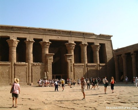 Edfu Temple in Egypt, by marvelous egypt travel - PRIVATE & Taylor-made travel in Egypt