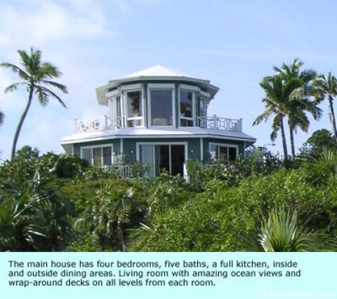 Villa - Voted most exclusive luxury estate on Little Exuma
