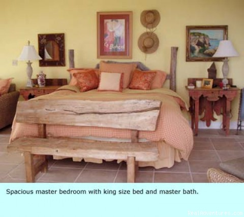Bedroom - Voted most exclusive luxury estate on Little Exuma