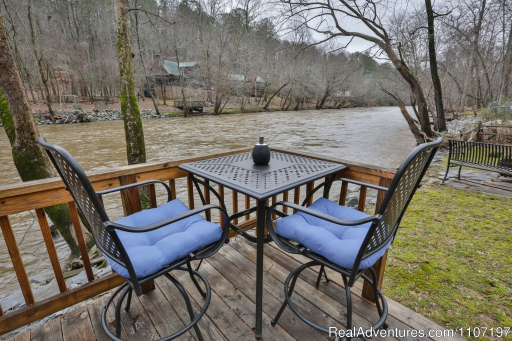 Lazy River Lodge- 2BR/2BA sleeps 4. Pet-friendly | Image #9/26 | Amazing accommodations in the North Ga Mountains