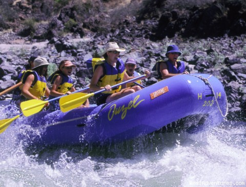 Oregon Rafting at its Best Whitewater excitement on Idaho's Salmon