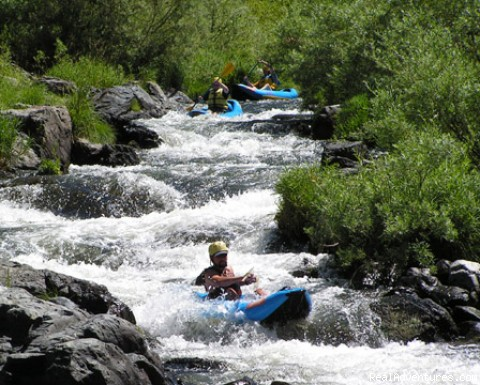 Inflatable Kayaks on Oregon's Rogue - Oregon Rafting at its Best