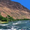 A sunny day on the Lower Deschutes