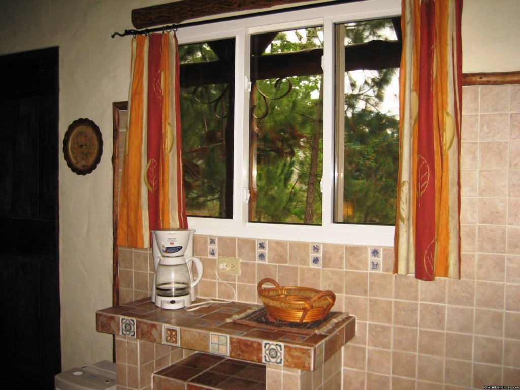 Kitchen window | Image #15/22 | Cabins/Cottages for Rent in Altos del Maria