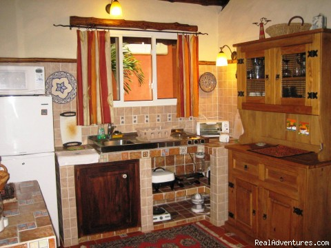 More Kitchen Details - Cabins/Cottages for Rent in Altos del Maria