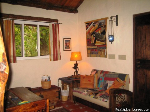 Little Living Room Couch - Cabins/Cottages for Rent in Altos del Maria
