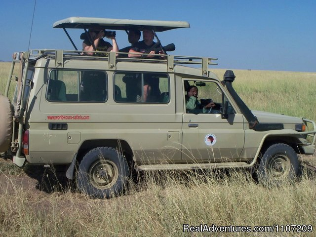 4x4 Safari Vehicle - World Tours And Safaris Tanzania (Tour Operator)