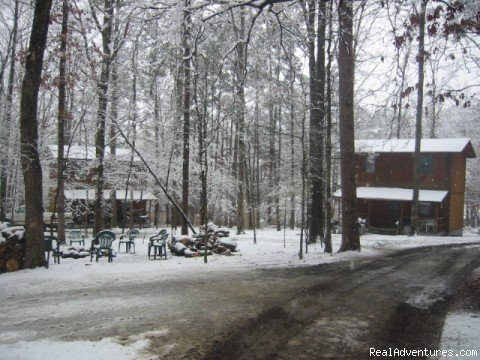 Last Resort Cabin Campground | Image #3/16 | Resort Cabin Rentals near Beavers Bend State Park