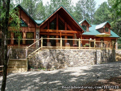 Leaping Lizard - 4 Bedroom Luxury Cabin | Image #10/16 | Resort Cabin Rentals near Beavers Bend State Park