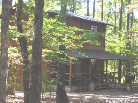 One Bedroom Cabin - Resort Cabin Rentals near Beavers Bend State Park