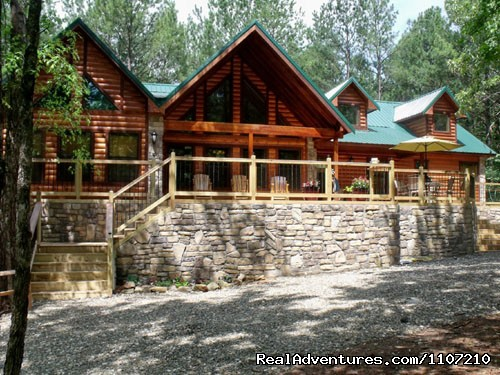 Leaping Lizard - 4 Bedroom Luxury Cabin (#12 of 19) - Resort Cabin Rentals near Beavers Bend State Park