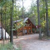 Dancing Rabbit Cabin with Tipi