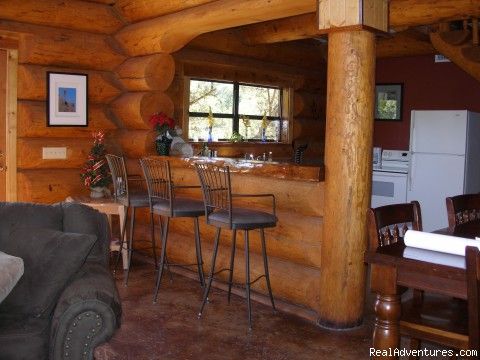 more interiors - The Avonne Log Cabin - The Great Escape!