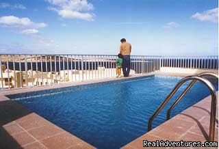 Holiday Accommodation in Malta: Shamrock Apartments - swimming pool