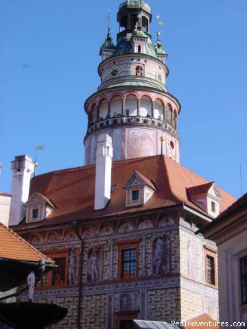Bell Tower, Cesky Krumlov, Bohemia - First Light Bicycle Tours