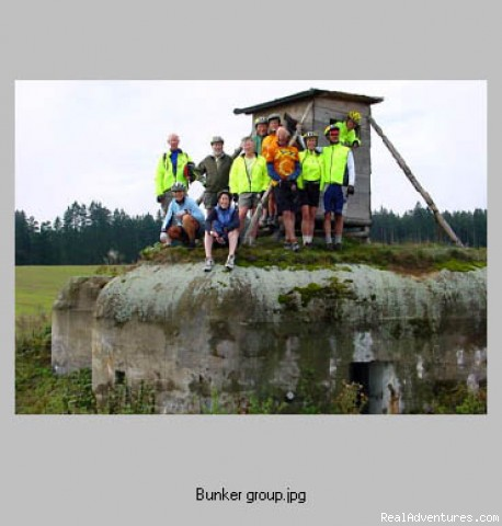 WWII bunker on the Czech border (#3 of 24) - First Light Bicycle Tours