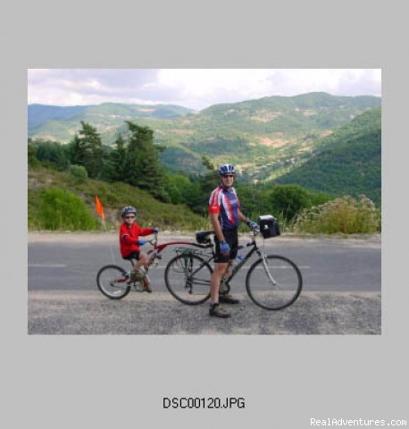Somewhere in the Ardeche - First Light Bicycle Tours