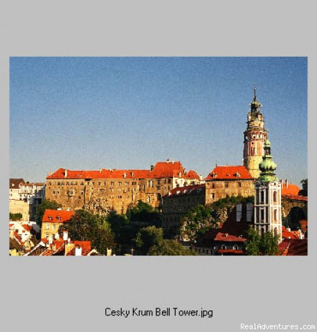 Cesky Krumlov Castle, Bohemia - First Light Bicycle Tours