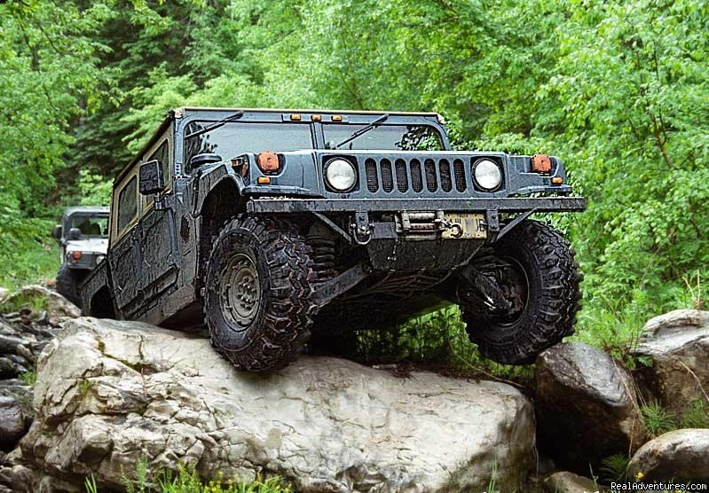 Drive the Hummer over big rocks | Image #4/10 | You Drive Adventures Hummer and ATV Rentals