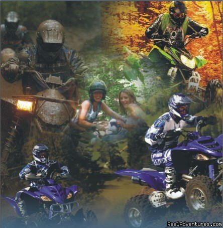 ATV fun for every one.