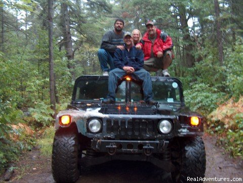 Camping and Driving the Hummer  | Image #10/10 | You Drive Adventures Hummer and ATV Rentals