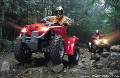 ATV Rentals Fully automatic - You Drive Adventures Hummer and ATV Rentals