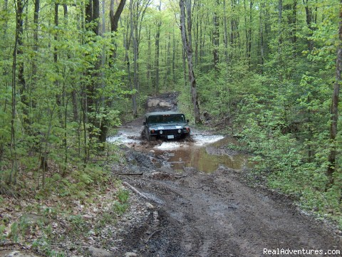 See our video on our website on Hummer page - You Drive Adventures Hummer and ATV Rentals