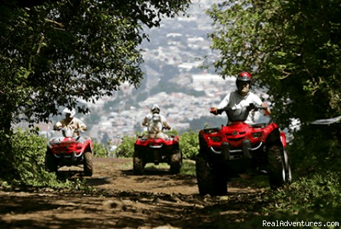 ATV Tours Central Valley Costa Rica
