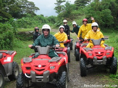 at 7500 ft - ATV Tours Central Valley Costa Rica