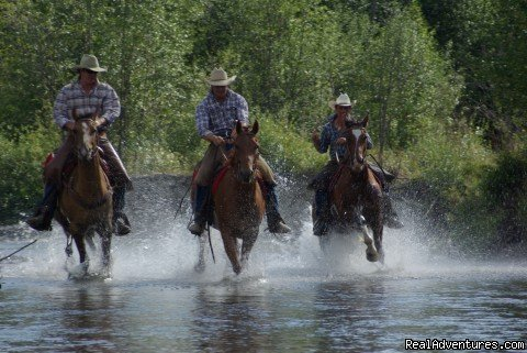 Boys in the water | Image #1/6 | Cranbrook, British Columbia  | Dude Ranch | Dude Ranch Canada