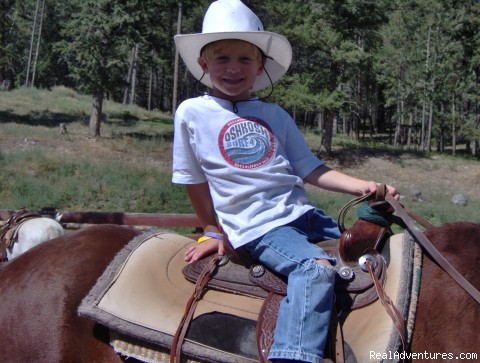 cowboys & smiles come in all sizes - Dude Ranch Canada