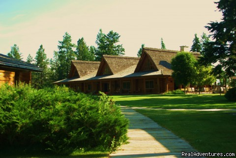 Lodge Front - Dude Ranch Canada