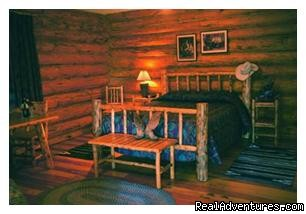 Cabin inter - Dude Ranch Canada