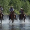 Dude Ranch Canada Boys in the water