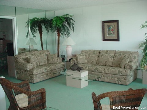 Living Room - Marco Island Waterfront
