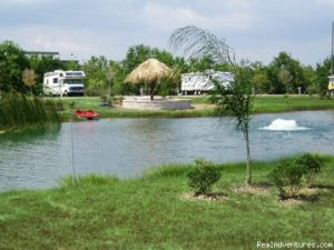 Houston Freshwater Fishing San Leon, Texas Campgrounds & RV Parks