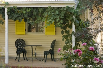 relax on the verandah - Amy's House, Beautiful B & B