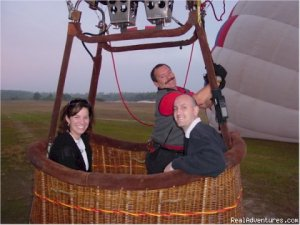 Disney Area Balloon Rides with Thompson Aire Inc. Winter Garden, Florida Ballooning