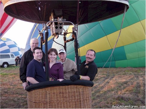 Fun for Young and Old alike - Disney Area Balloon Rides with Thompson Aire Inc.