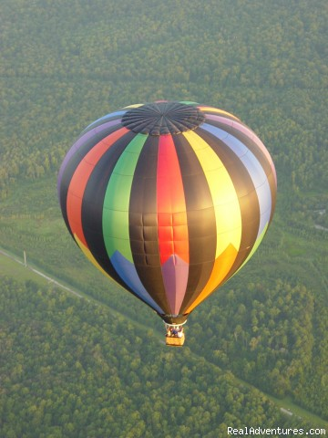 Simply beyond words...  A must do! - Disney Area Balloon Rides with Thompson Aire Inc.