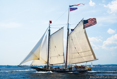 Sail the Maine Coast on the Schooner Stephen Taber Rockland, Maine Sailing & Yacht Charters