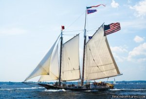 Sail the Maine Coast on the Schooner Stephen Taber Sailing & Yacht Charters Rockland, Maine