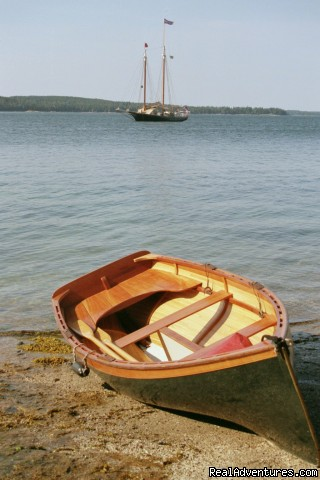 Exploring deserted islands in Maine - Sail the Maine Coast on the Schooner Stephen Taber