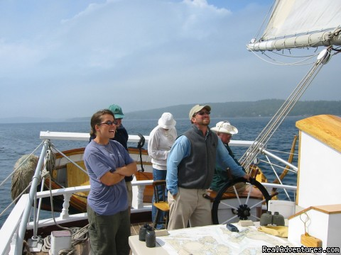 Nice day and a fair fetch (#8 of 9) - Sail the Maine Coast on the Schooner Stephen Taber