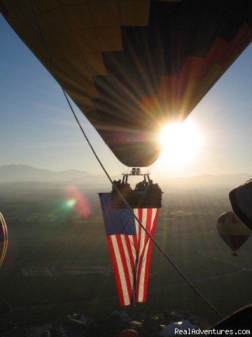 4th of July (#3 of 14) - Romantic Balloon or Biplane Flight and B & B
