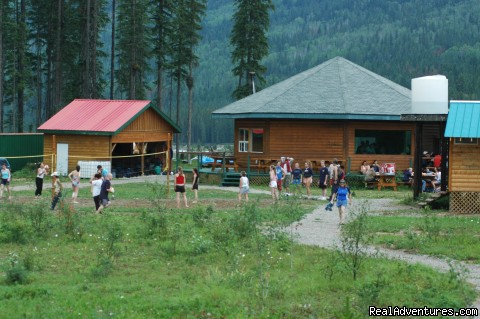 The Hydra River Base - Whitewater Rafting on the Kicking Horse River