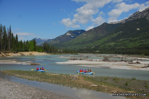 The stunning Kicking Horse Canyon - Whitewater Rafting on the Kicking Horse River