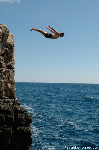 Cliff diving (#11 of 20) - Croatia: Kayak, Cycle, Hike: 1 Day-1 Week Tours