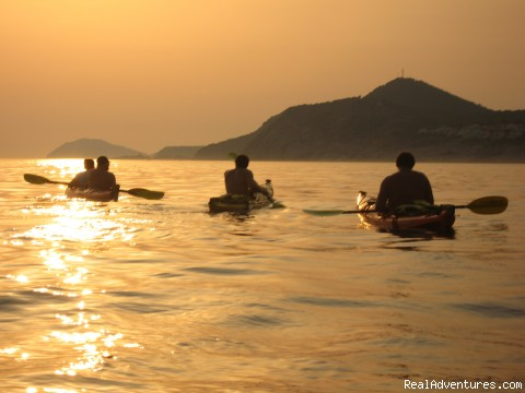Sunset Paddle - Croatia: Kayak, Cycle, Hike: 1 Day-1 Week Tours