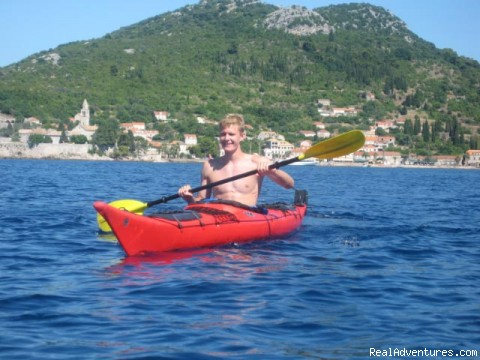 Kayak clear, blue water - Croatia: Kayak, Cycle, Hike: 1 Day-1 Week Tours